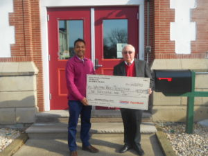 WVMS Receives Grant from Liberty Petroleum