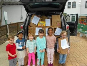 WVMS Supports Local Food Pantry
